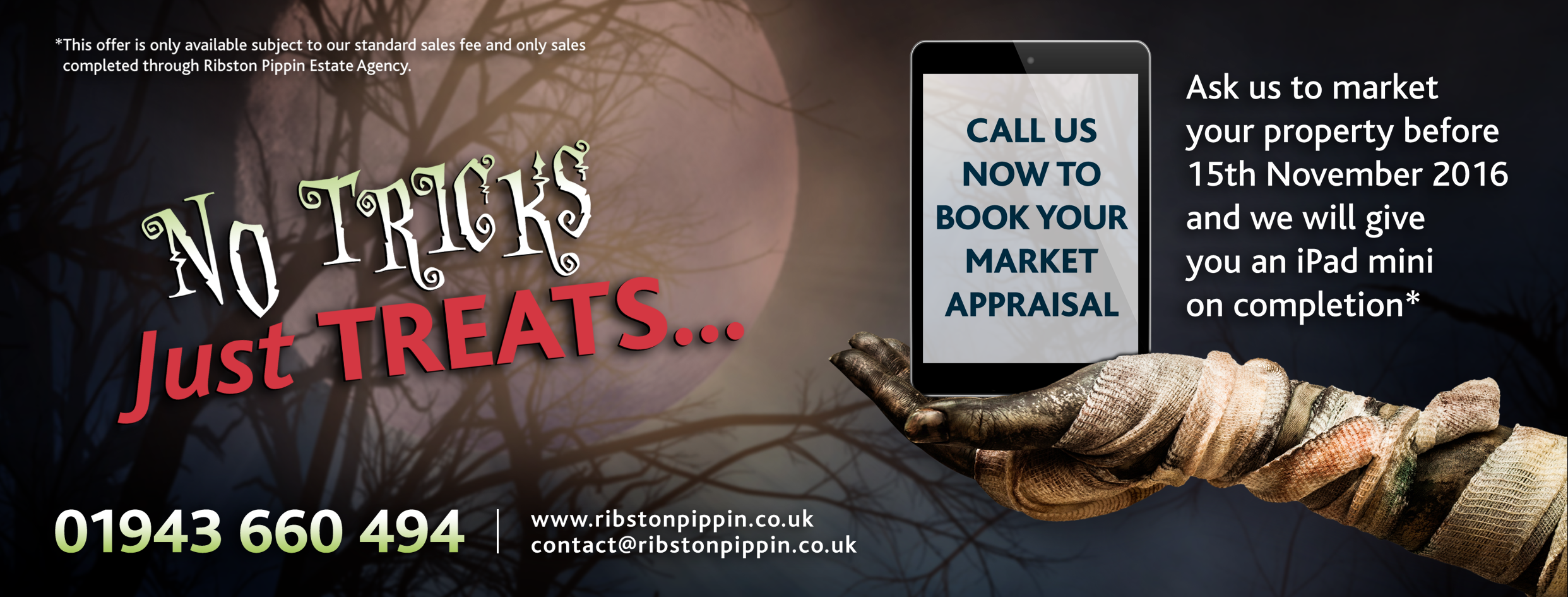 Call us now to book your market appraisal