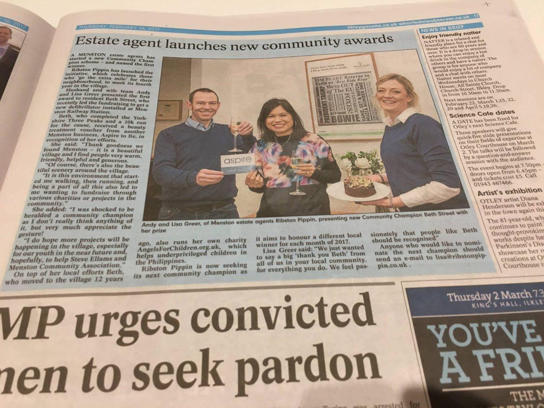Community Champions Honoured